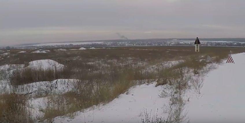 Боевики прибегали к атакам позиций ВСУ на Світлодарській дуге / Скриншот
