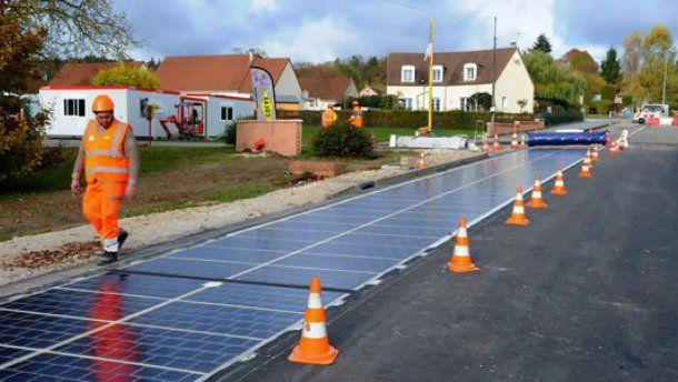 Миллион километров таких дорог могут обеспечить электроэнергией всю Францию / 24 канал