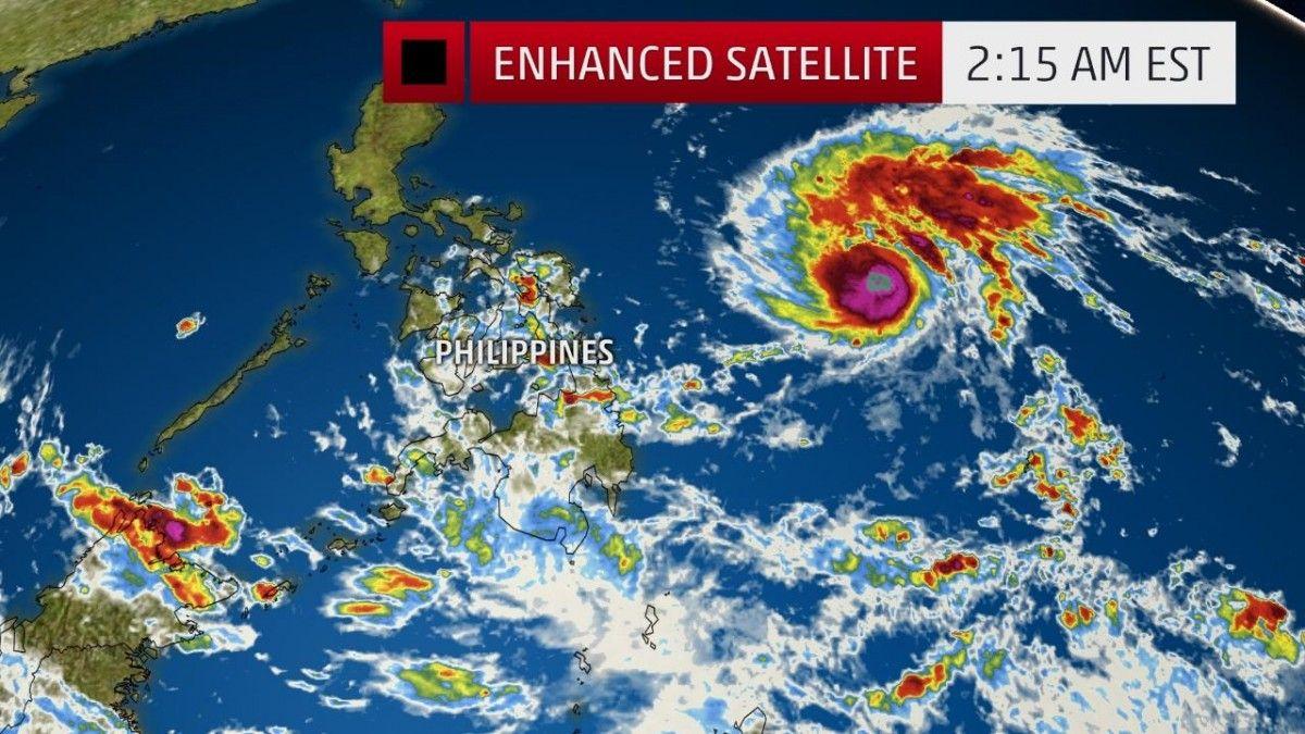 На Філіппіни насувається тропічний шторм / The Weather Channel