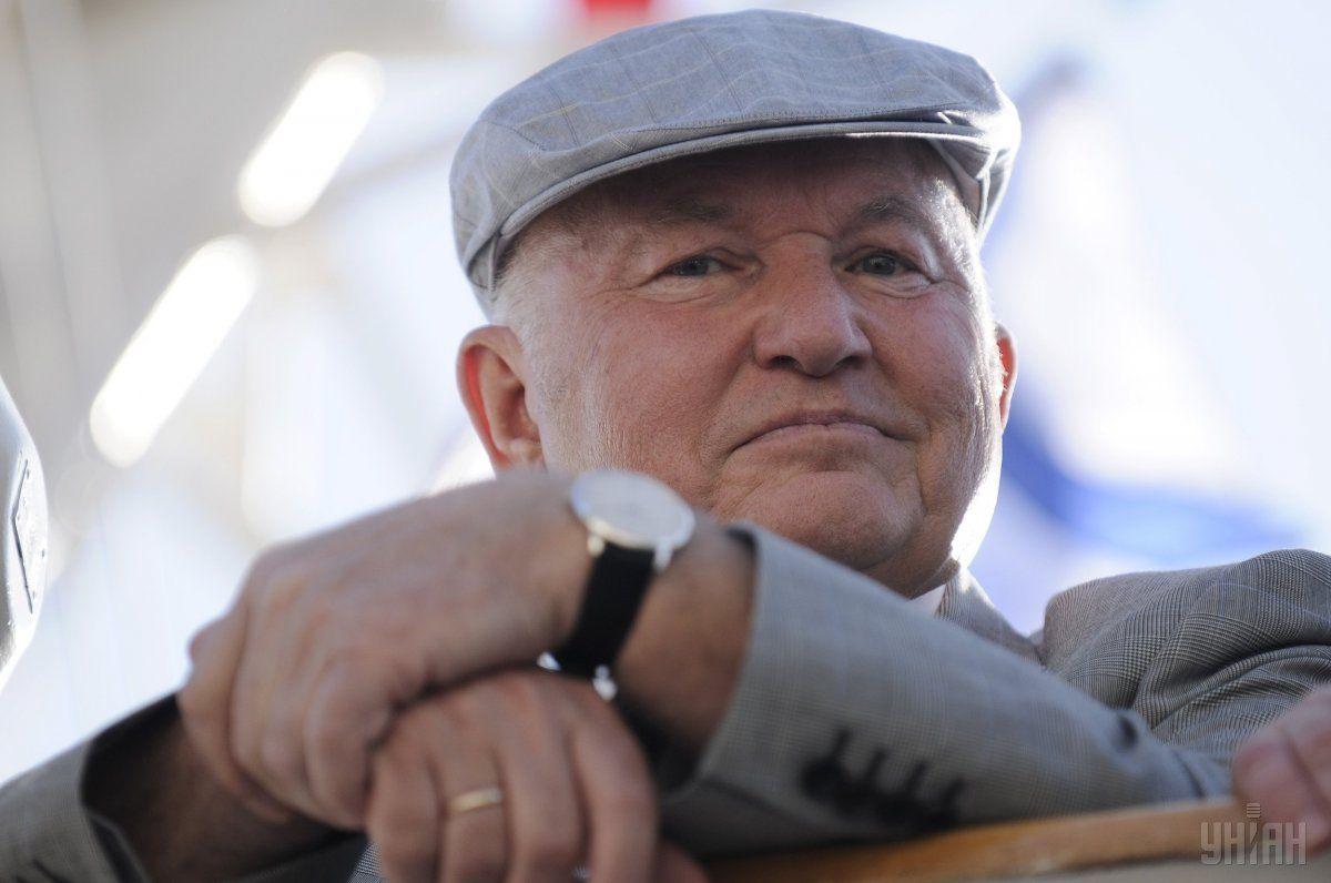Лужков помер 10 грудня / фото УНІАН
