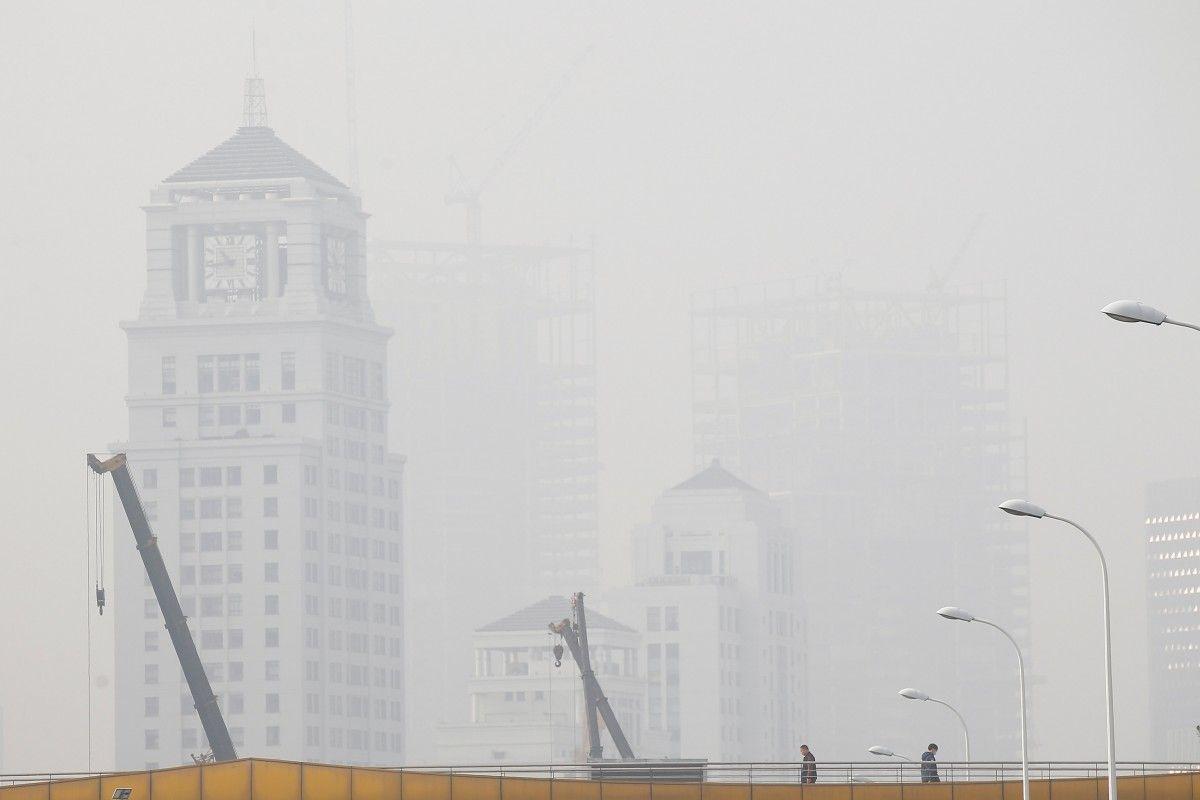 Смог в Китае / Reuters