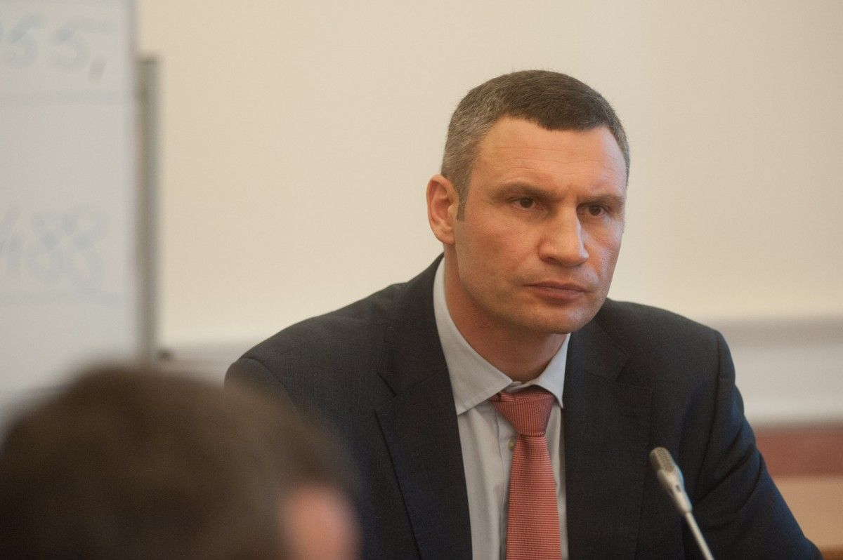Кличко чекає на реакцію прокурора Києва на передані дані щодо Шамрая / kievcity.gov.ua