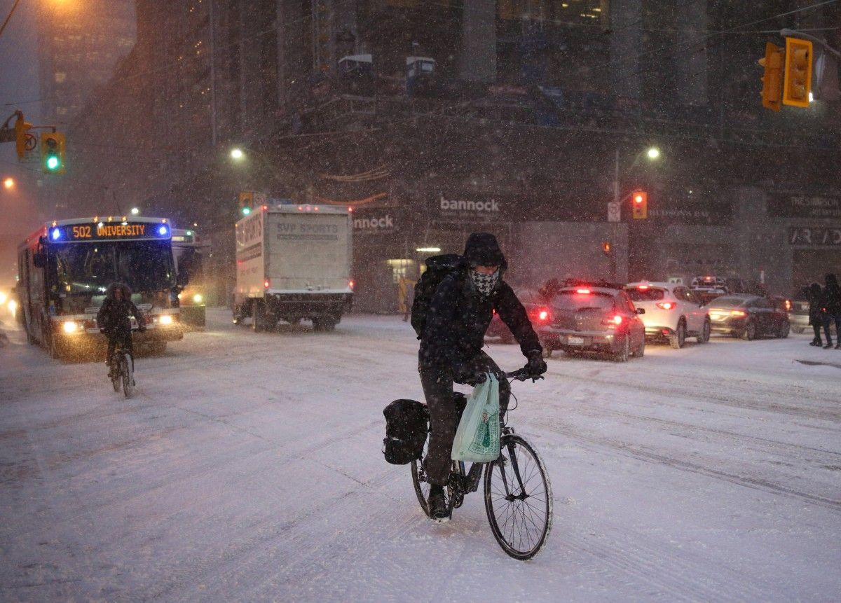 На Канаду насувається сніговий шторм / Reuters