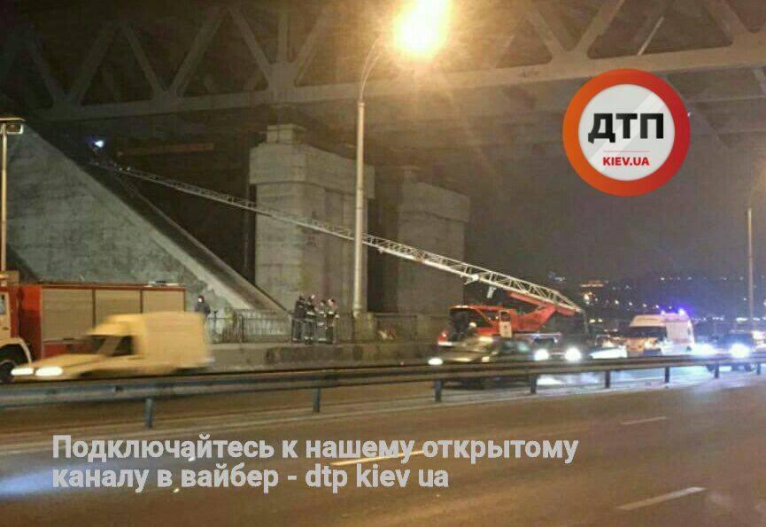 В результате инцидента образовался затор / dtp.kiev.ua