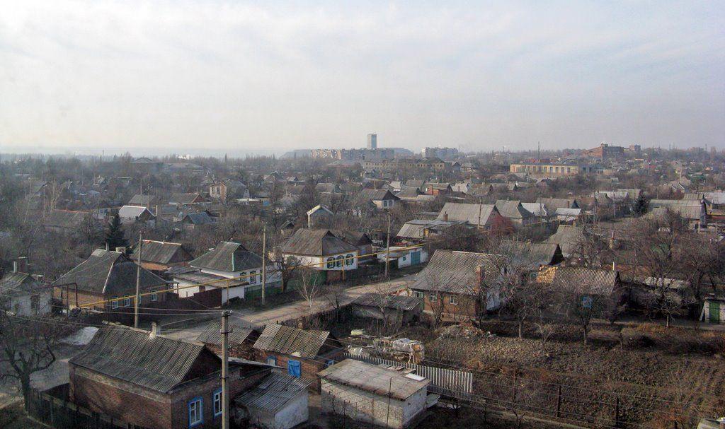 Боевики обстреляли жилые кварталы Торецкая / фото panoramio.com/user/829269