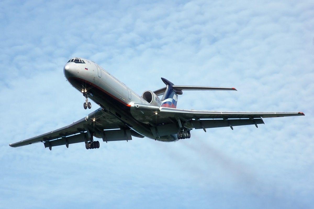 Російський ТУ-154 здійснив політ політ в рамках Договору з відкритого неба / flot2017.com
