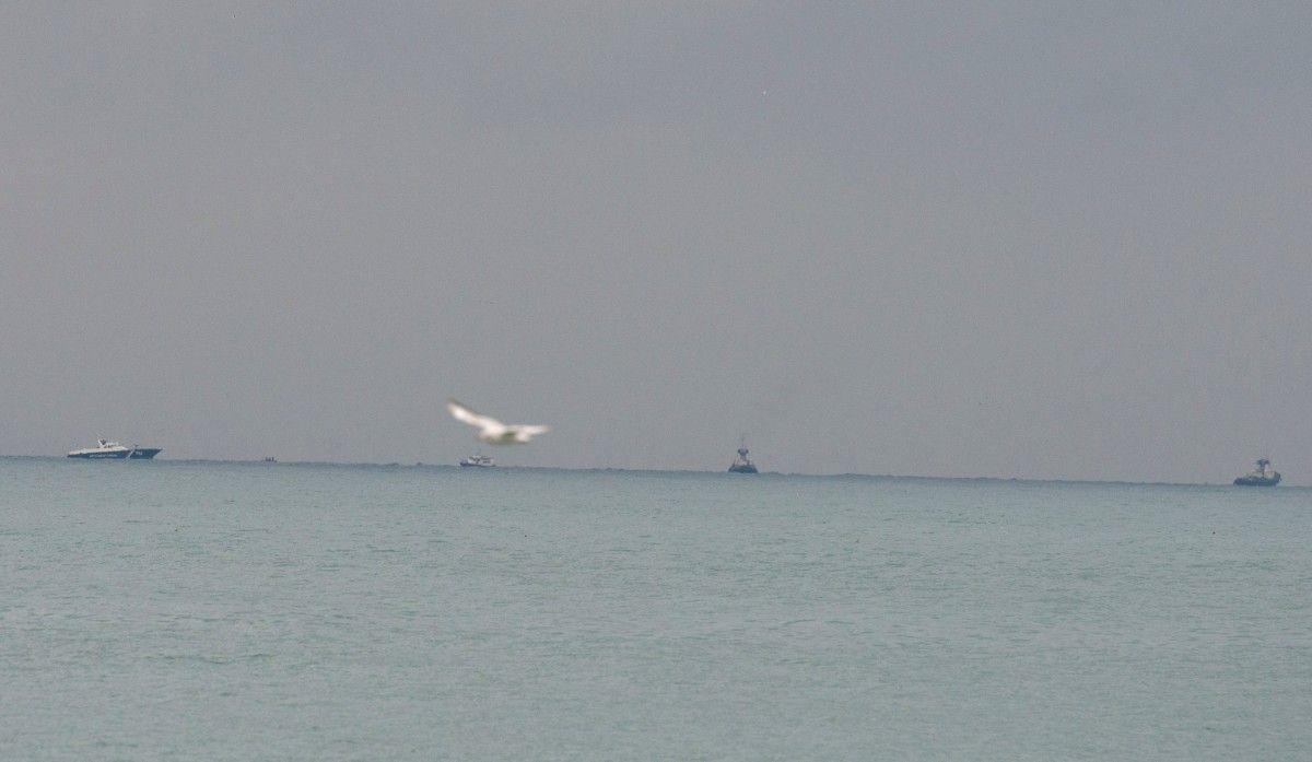 Ту-154 впав у Чорне море / REUTERS
