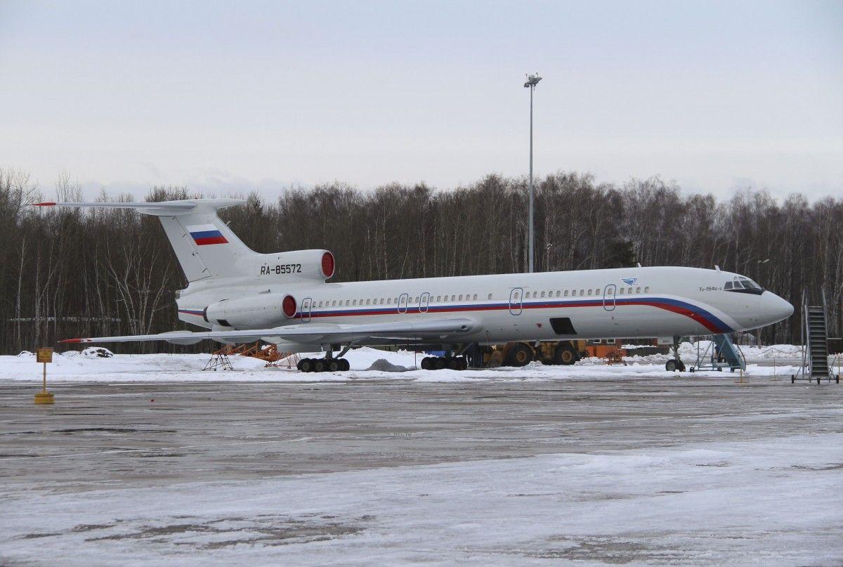 Ту-154 упал в Черное море / REUTERS
