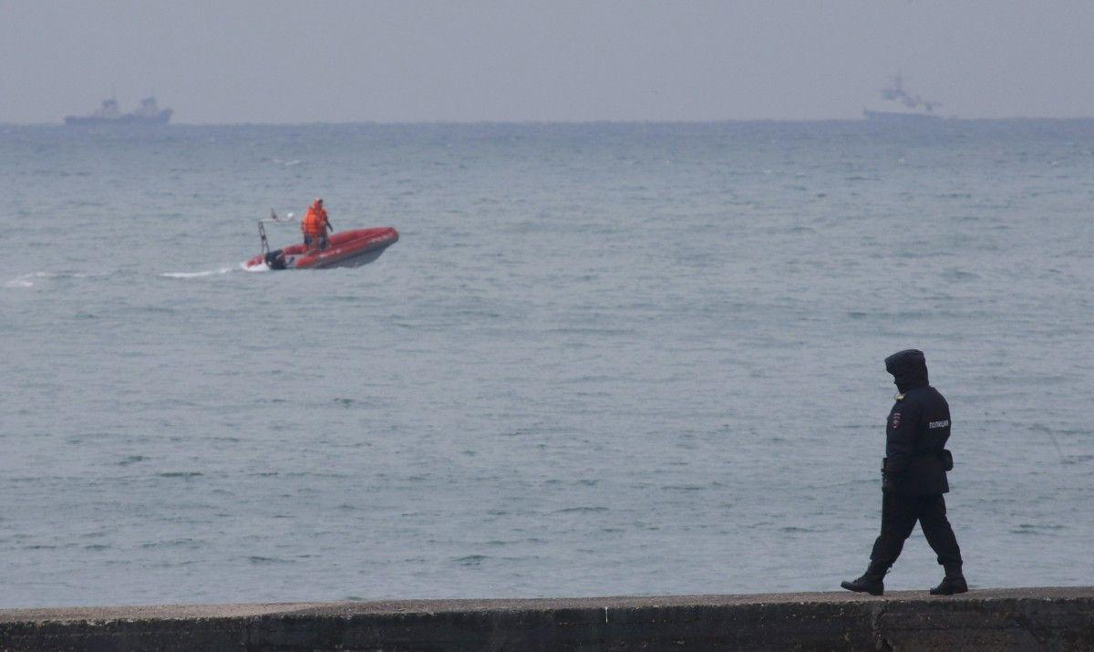 Самолет Ту-154 упал в Черное море / REUTERS