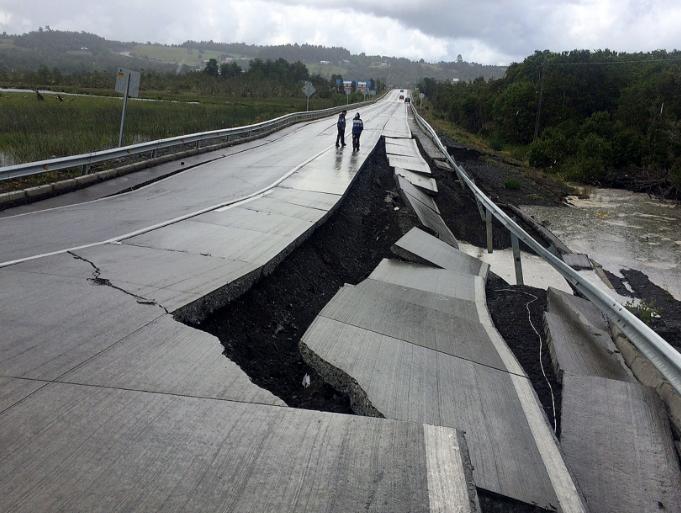 Землясение в Чилі / REUTERS