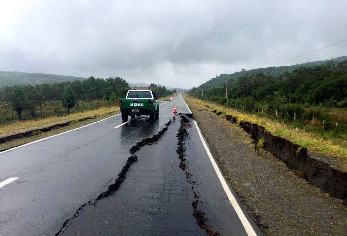 Наслідки землетрусу в Чилі / Reuters