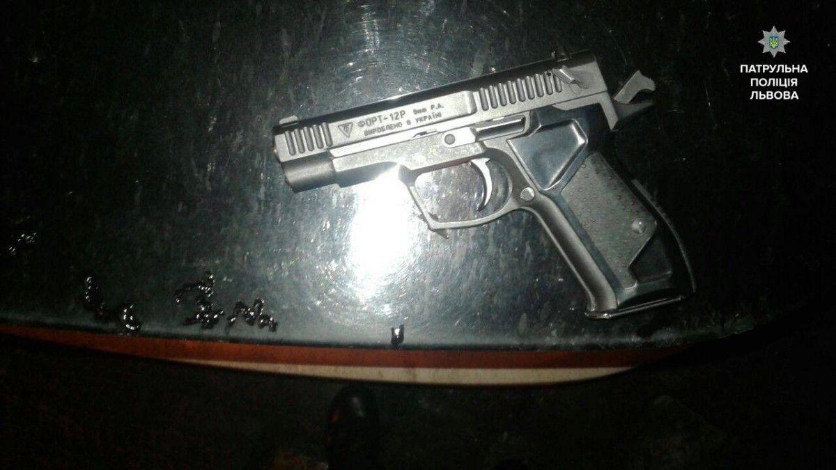 Поліція розповіла про стрілянину у Львові / facebook.com/lvivpolice