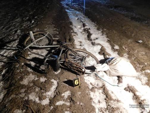 45-річного чоловіка на велосипеді збив водій автомобіля та втік. / Фото УНІАН