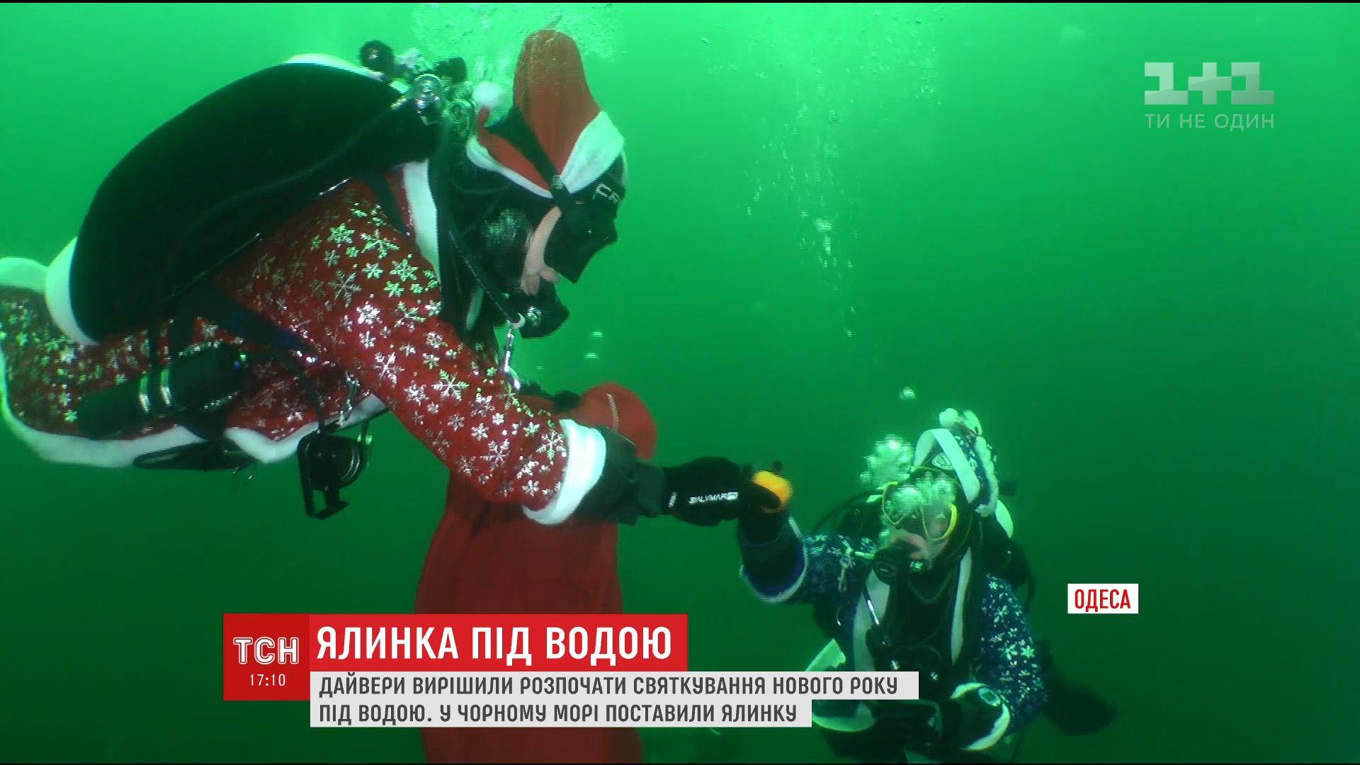 Вода в глубине более холодная, чем обычно / скриншот