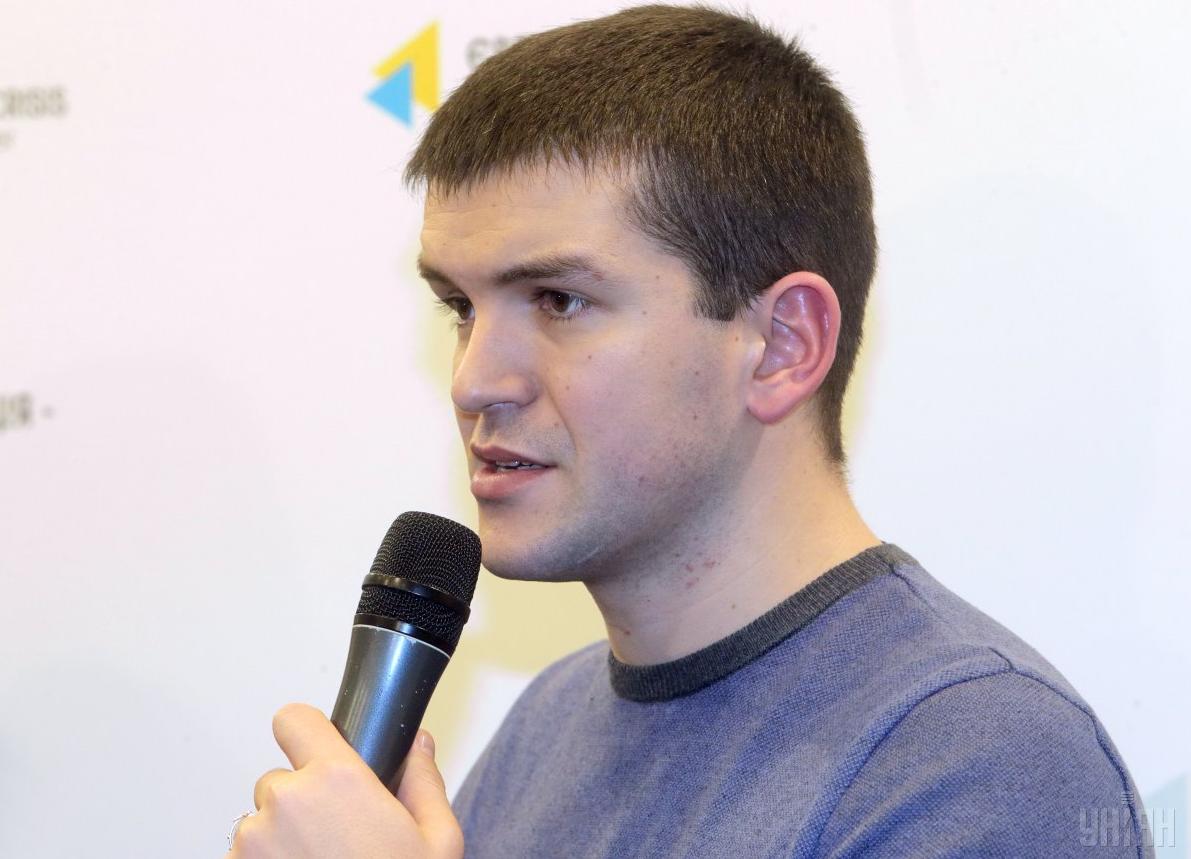 Андрій Демчук, автор тифлокоментаря до стрічки / УНІАН