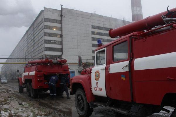 На гасіння пожежі залучались 3 відділення чергових караулів / Фото dsns.gov.ua