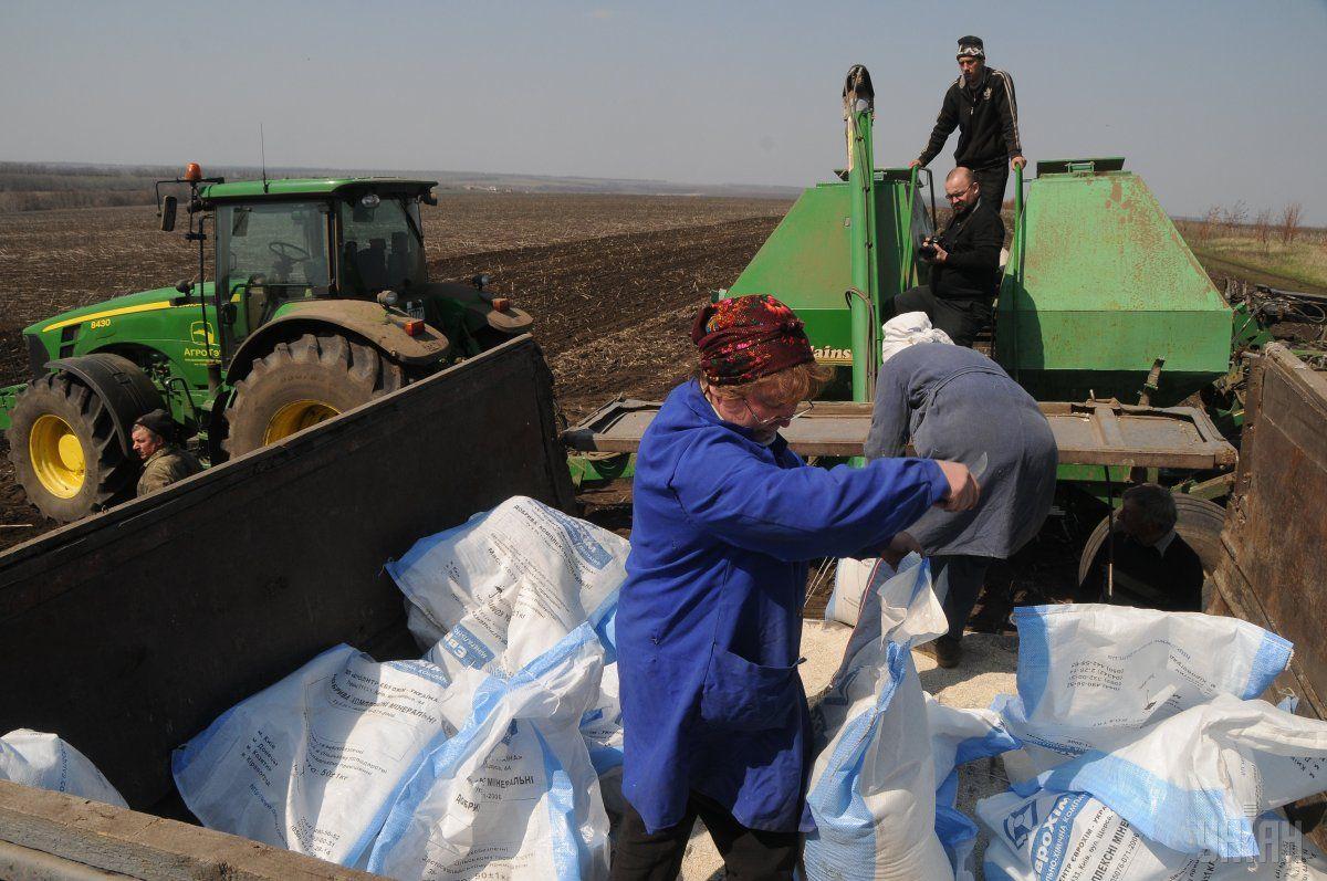 В ФРУ предложили квотировать импорт минудобрений для защиты внутреннего рынка / фото УНИАН