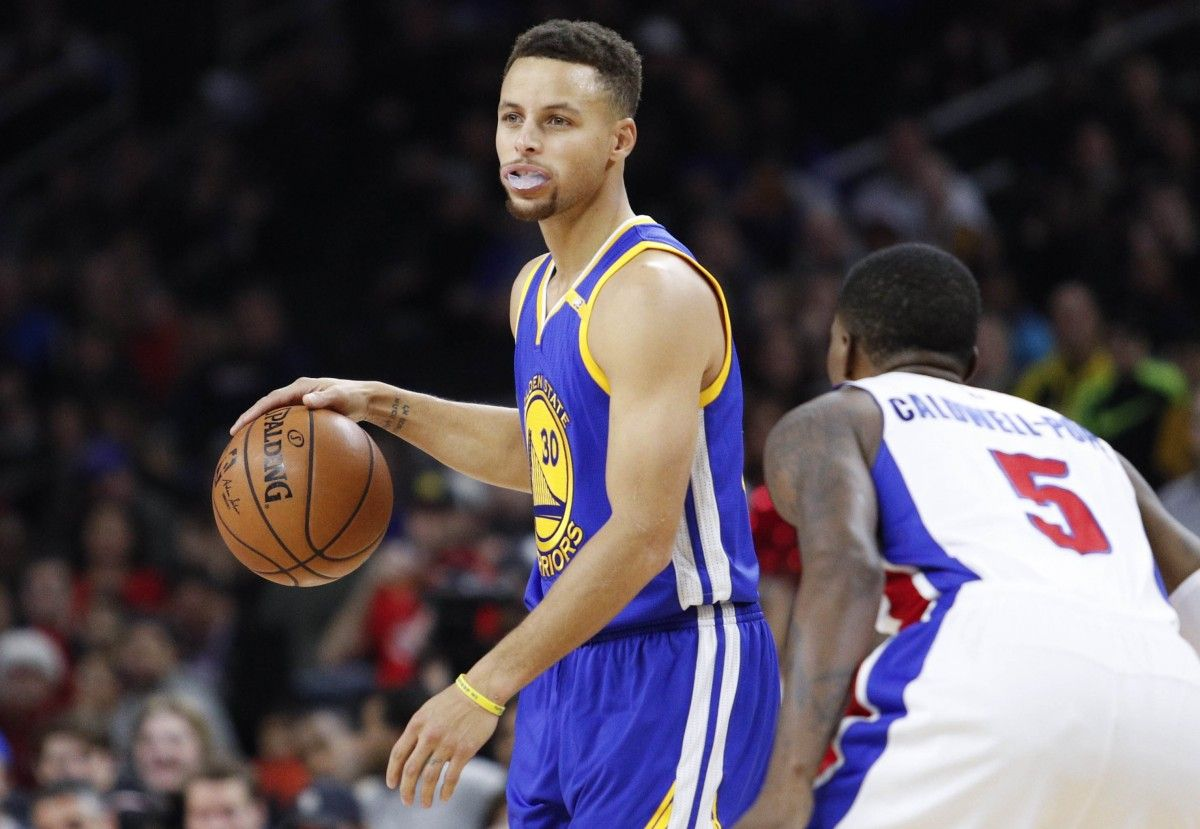 Баскетболист Стефен Карри / REUTERS