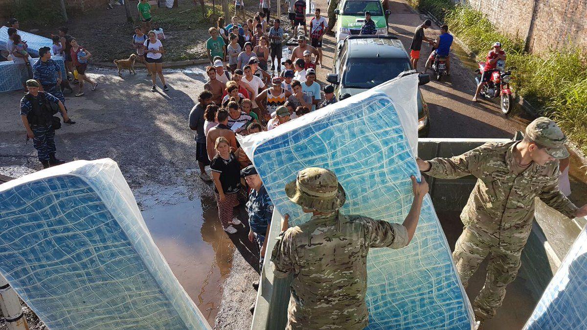 Повінь в Аргентині / Міністерство Оборони Республіки Аргентина