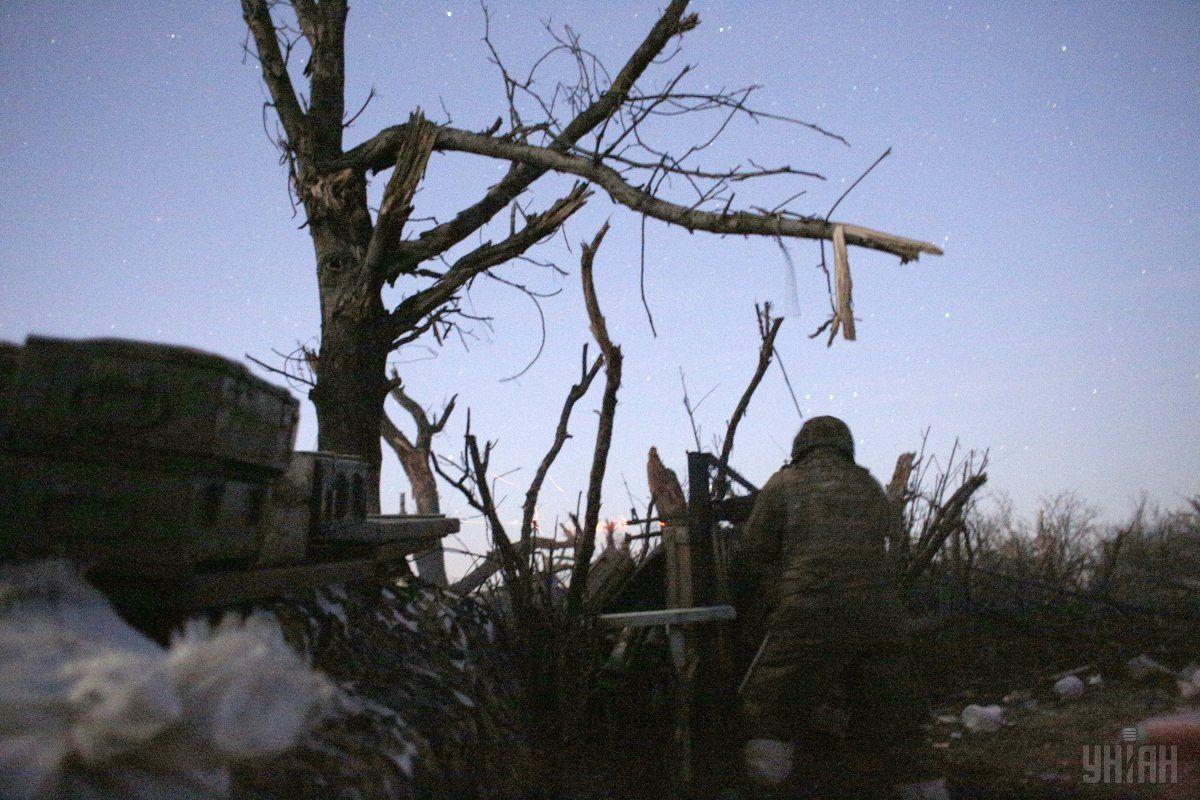 Среди украинских военных есть раненые / фото УНИАН