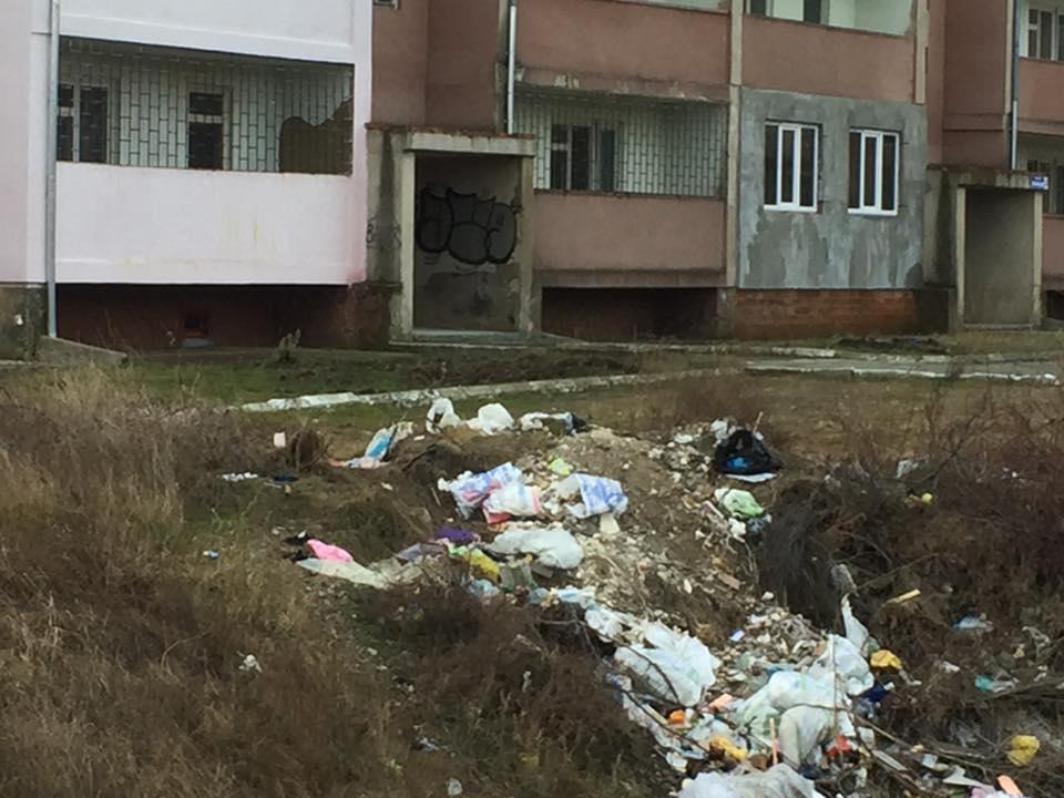 Мусор в одном из районов Белгород-Днестровского / www.facebook.com/alla.under