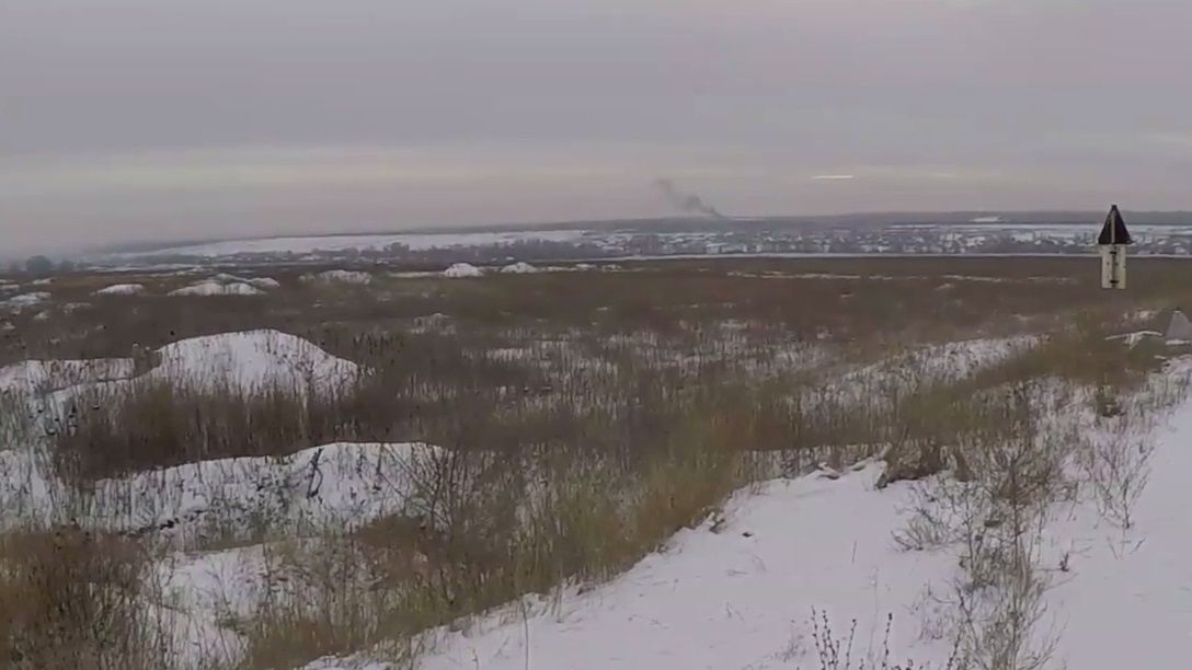 The enemy troop was captured in the Svitlodarsk area / Screenshot