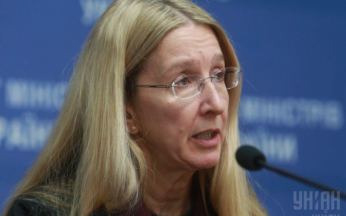 Комітет ВР з охорони здоров'я схвалив проект постанови про звернення до Кабміну щодо звільнення Супрун / фото УНІАН