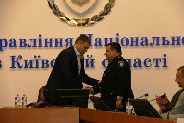 Поліцію Київщини очолить Ценов / kv.npu.gov.ua