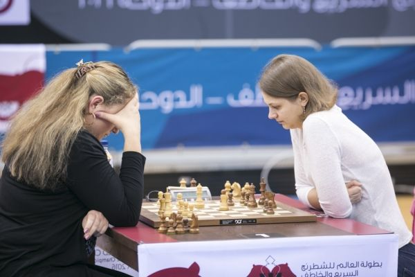 Музычук сделала победный дубль на чемпионате мира в Дохе / fide.com