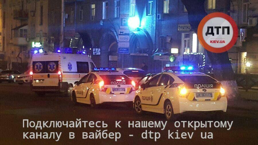Стрельба возле Дворца спорта / dtp.kiev.ua