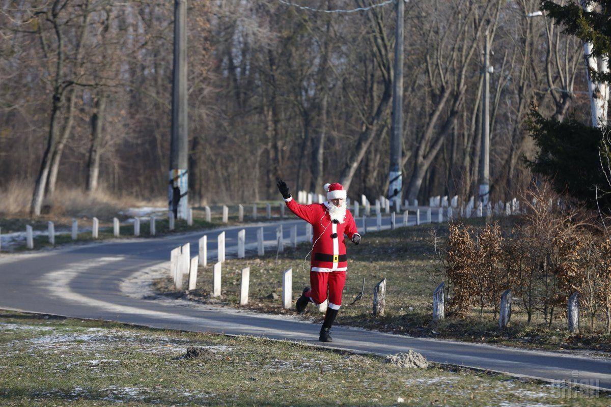 Santa runday / УНИАН