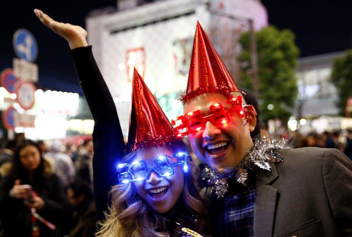 Новый год в Японии / REUTERS