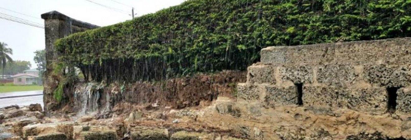 Барбадос накрыли проливные дожди