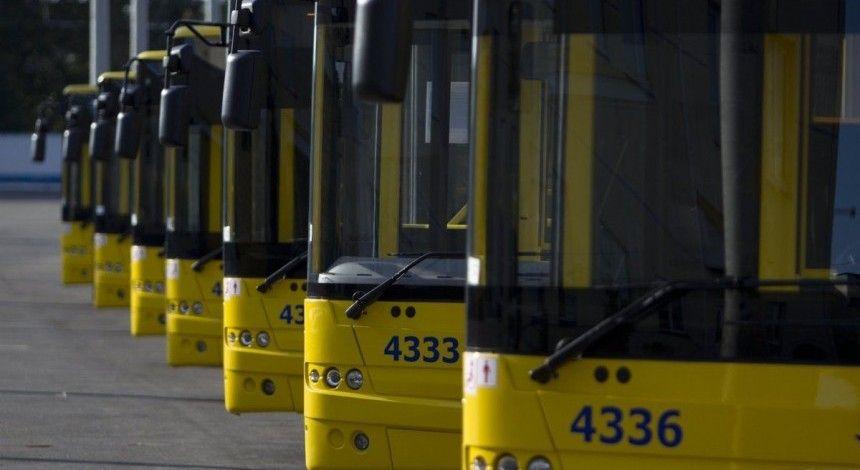 В ночь на понедельник в Киеве изменят движение три троллейбусных маршрута