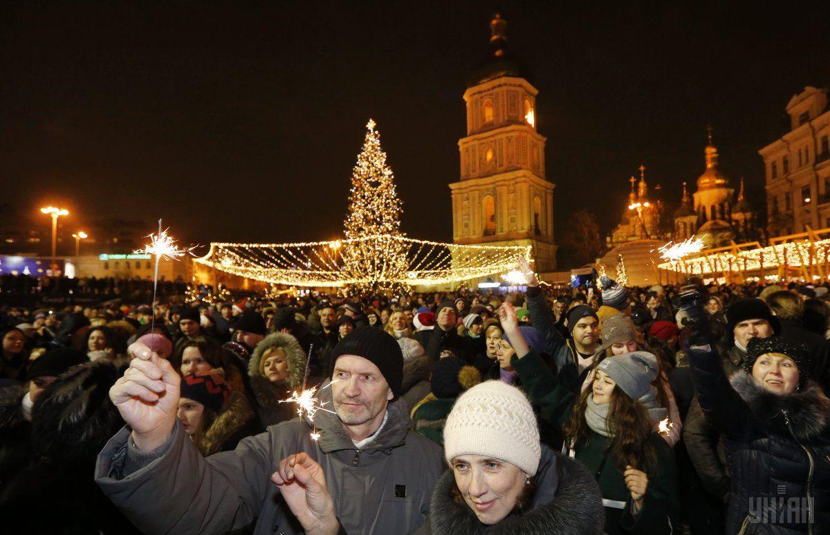 В целом город подготовил 21 новогоднюю акцию / УНИАН