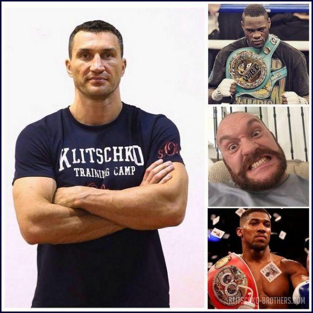 Кличко входит в список потенциальных соперников Уайлдера / klitschko-brothers.com