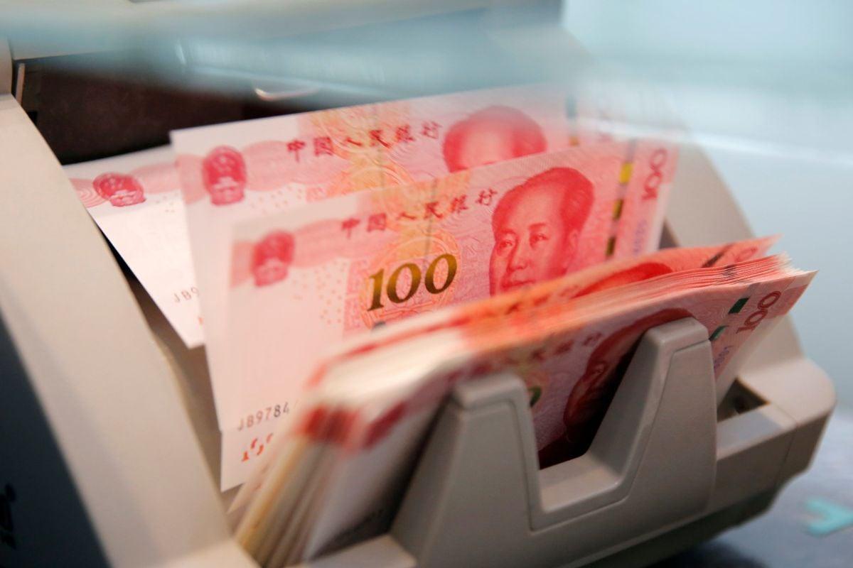 Аналитики не верят, что китайский юань станет мировой валютой / REUTERS