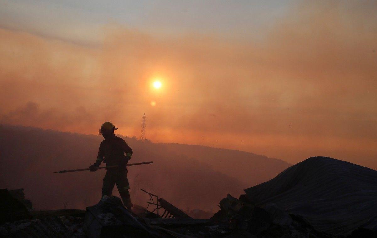 Лісова пожежа в Чилі / Reuters