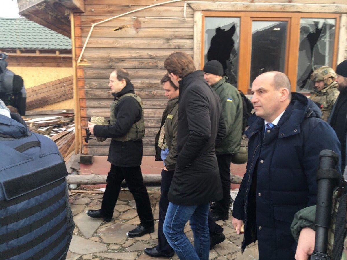 МИД отметило, что поврежденный дом является свидетельством российской агрессии в Виноградном / twitter.com/mfa_ukraine