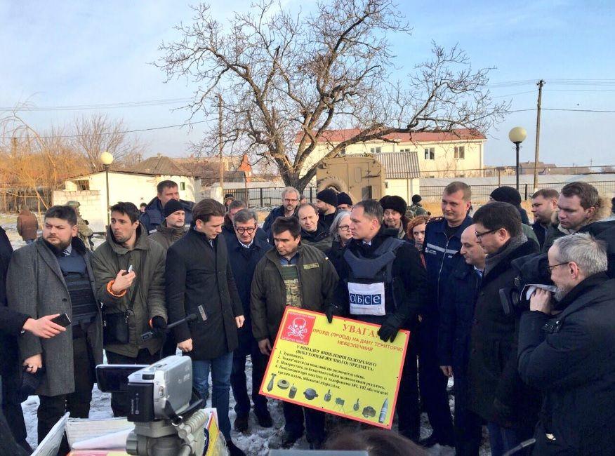 Курц отметил, что режим тишины на Донбассе должен полностью соблюдать / twitter.com/mfa_ukraine