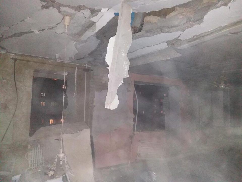 Взрыв в многоэтажке в Сумах / facebook.com/MNS.GOV.UA