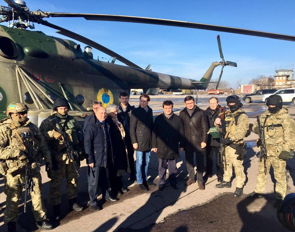 Климкин и Курц завершили визит в Донецкой области / facebook.com/UkraineMFA
