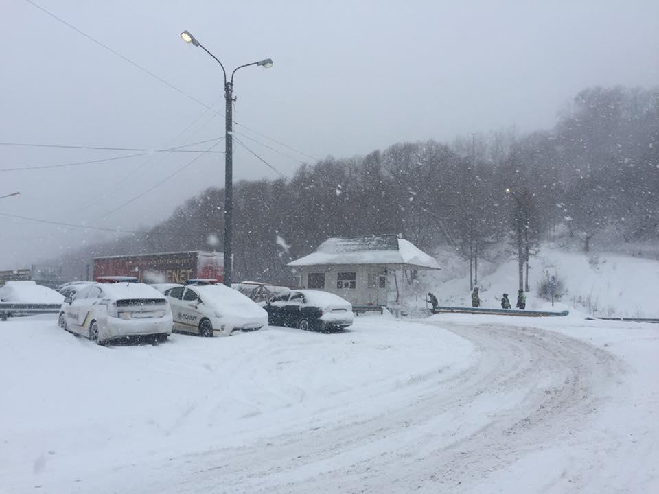 В Україні пройшли сильні снігопади / ДСНС