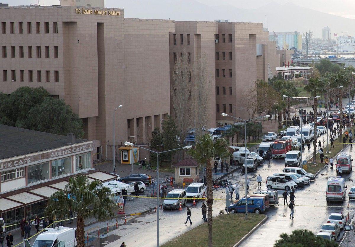 Взрыв в Измире / REUTERS