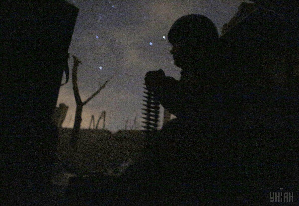 Доба на Донбасі минула без втрат серед українських захисників / Фото УНИАН