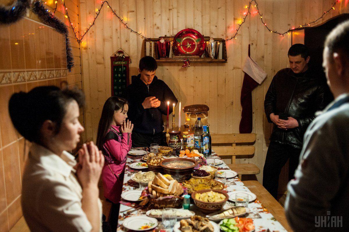 На Сочельник на столе должно быть 12 постных блюд / фото УНИАН