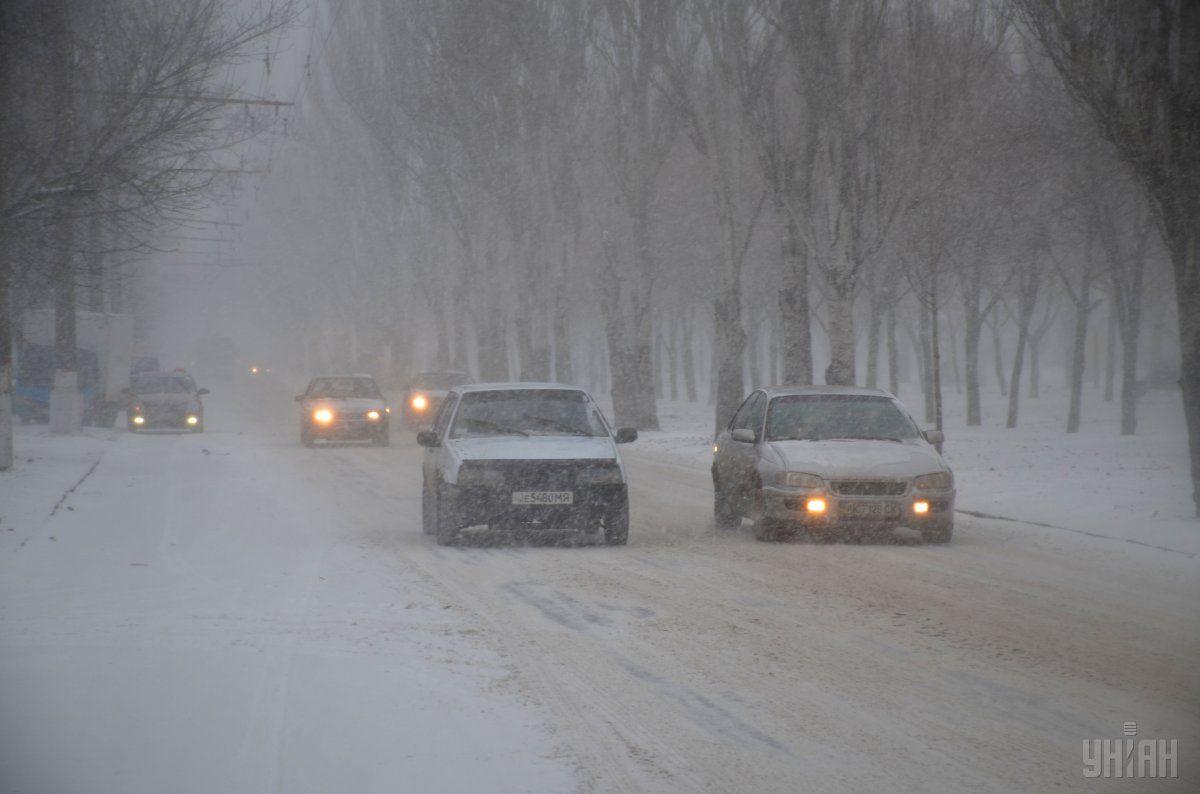 На популярних українських маршрутах пройде сніг / УНІАН