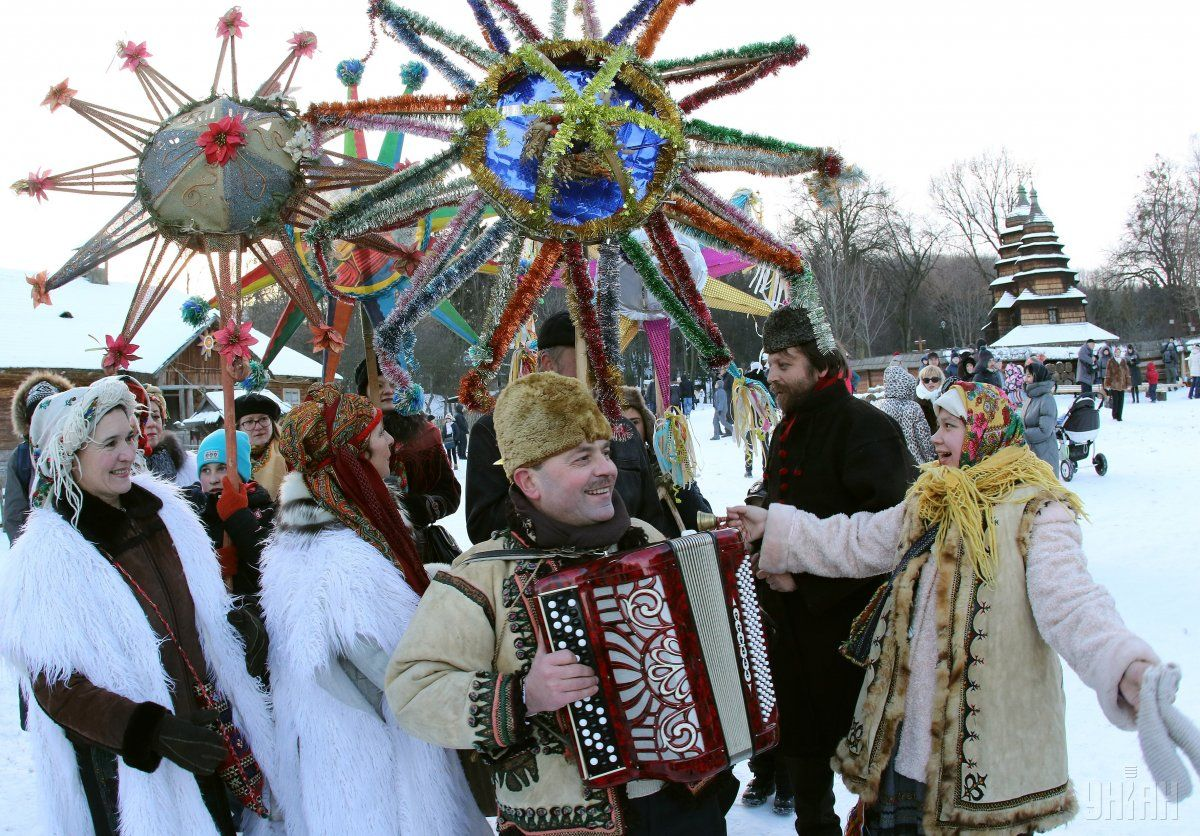 13 января славяне отмечают Щедрый вечер / фото УНІАН