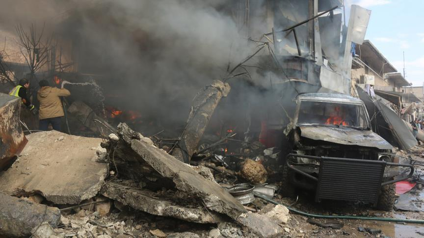 Car bomb kills 60 in Syria's Azaz / Anadolu