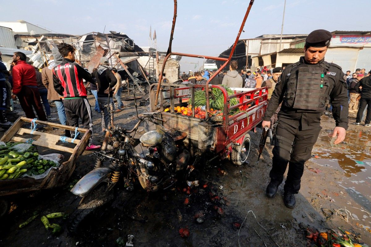 Теракт в Багдаде / REUTERS